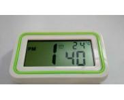 Relógio Despertador Digital. Verde