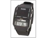 Relógio de pulso digital.