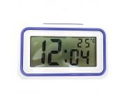 Relógio Despertador Digital. Azul Escuro